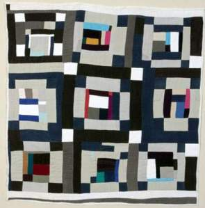 Quilt by Mary Lee Bendolph, Gee's Bend artist