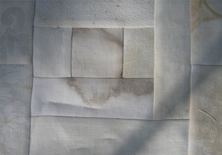 early stain quilt detail, 2010