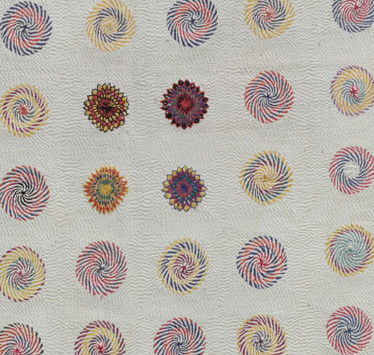 detail of center of kantha example