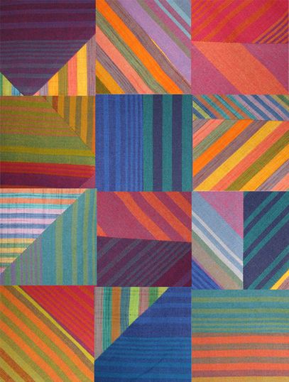 photoshop collage of stripes from a current project