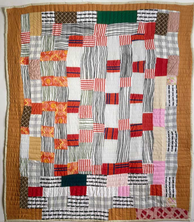 African American strip quilt